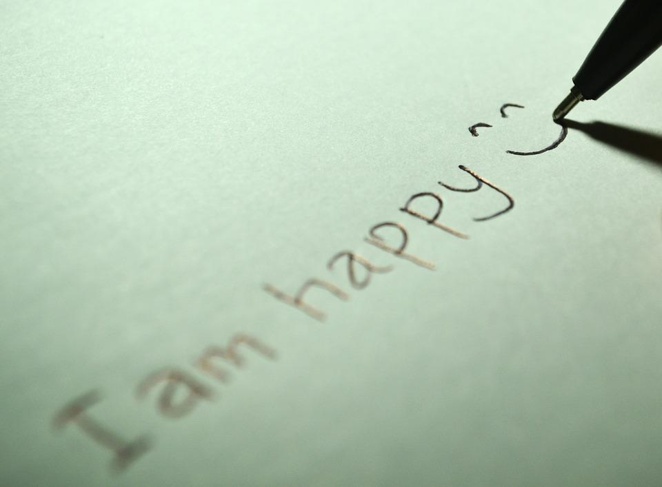 Rester positif pour être heureux